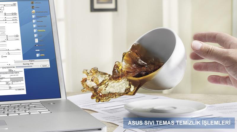 Asus izmir notebook sıvı temas