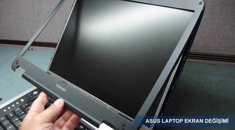Asus Notebook Ekran Değişimi
