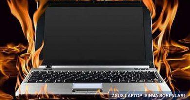 Asus Notebook Isınma Sorunu